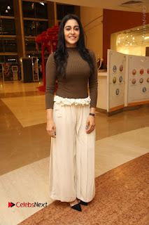 Actress Regina Candra Pos at Asian Para Badminton Championship Winners Felicitation Ceremony  0074.JPG