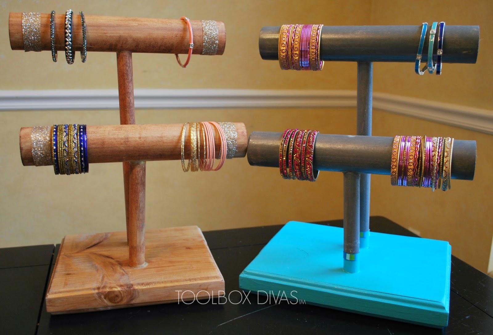 Diy Wooden Bracelet Holder