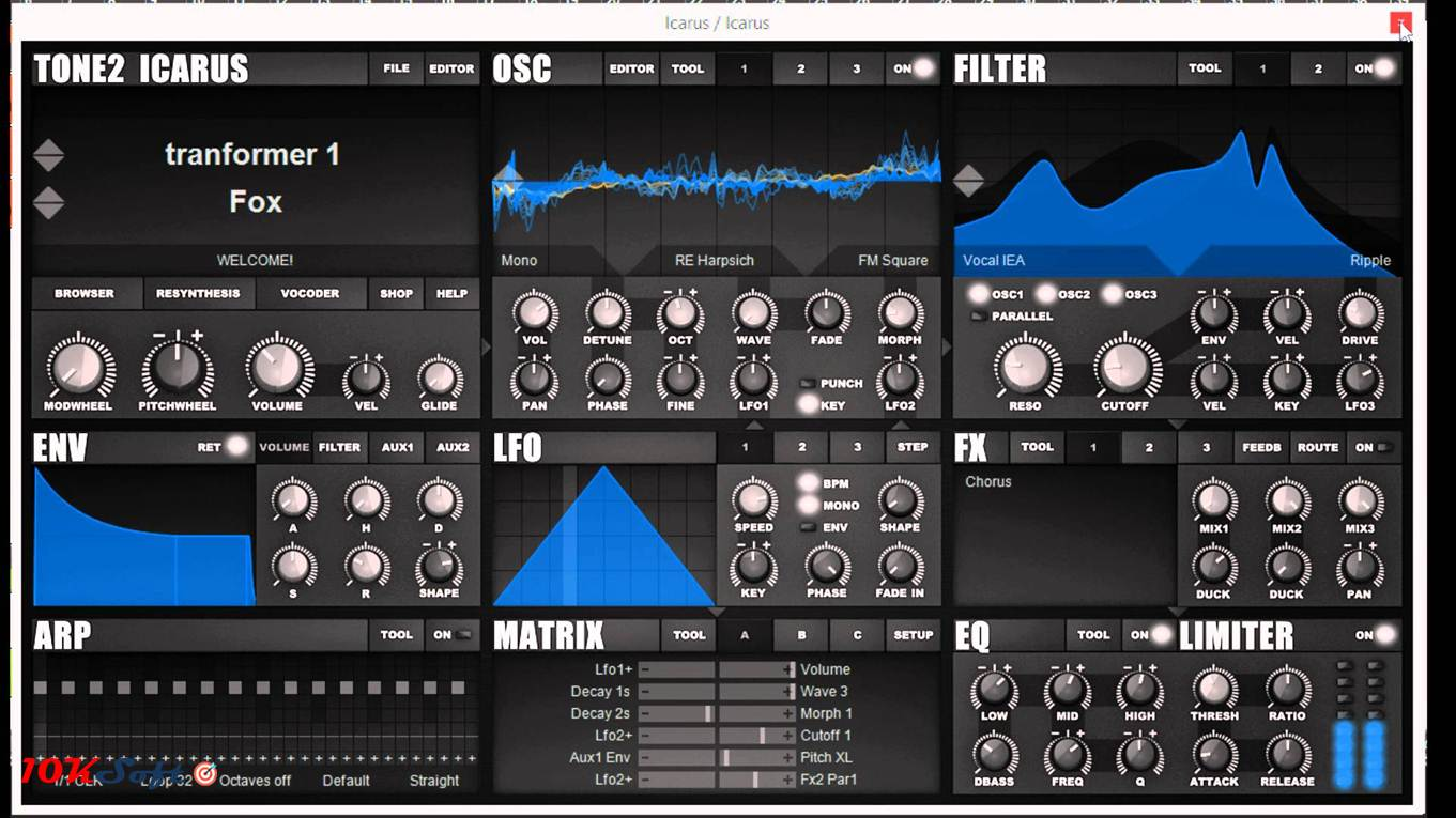 Download Tone2 Icarus DMG for Mac Latest Version Free