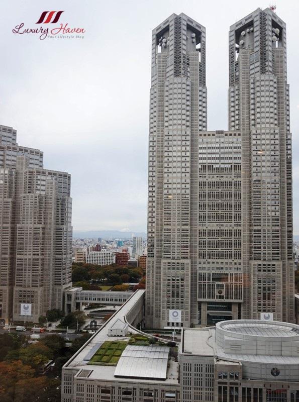 keio plaza tokyo metropolitan government building observatories
