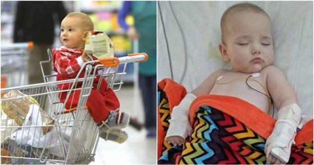 Jangan Biasakan Bayi Duduk di Troli Belanja, Apa yang Dialami Bayi Ini Menakutkan Orang Tua