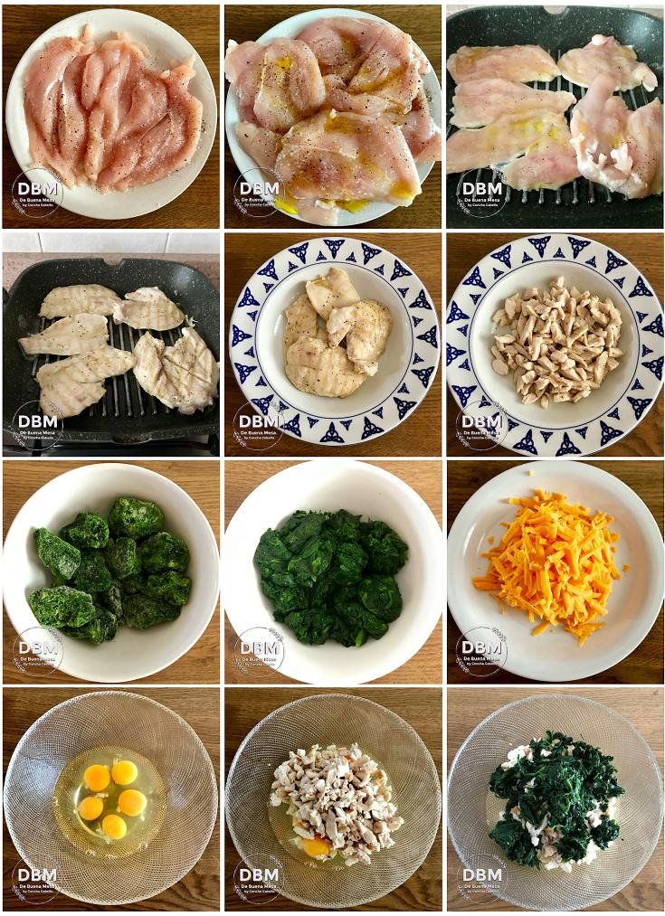 tortilla-pollo-espinacas-cheddar-pasos1