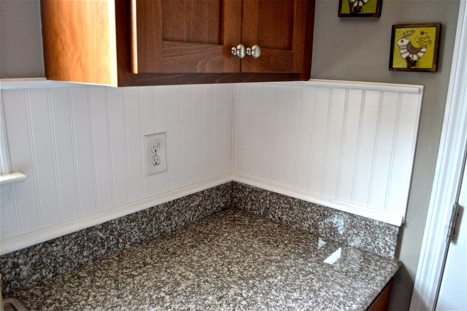 Beadboard Backsplash... - Liz Marie Blog