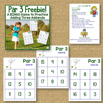 Strengthen Math Skills - Some information about how games strengthen math skills, and ideas for games, including 2 freebies!