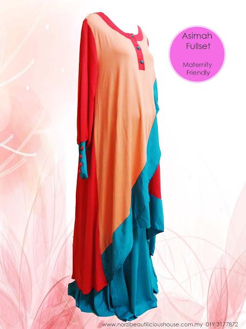 baju kurung mengandung kain lycra cantik murah online baju mengandung maternity