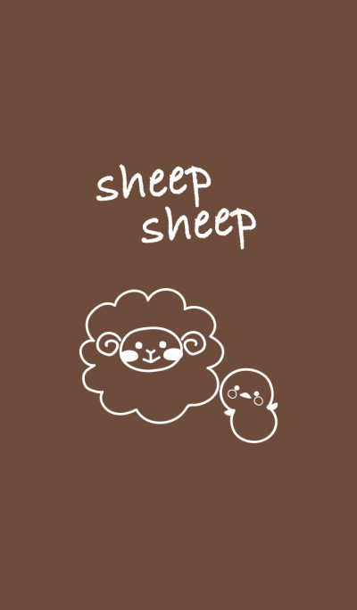 sheep sheep.