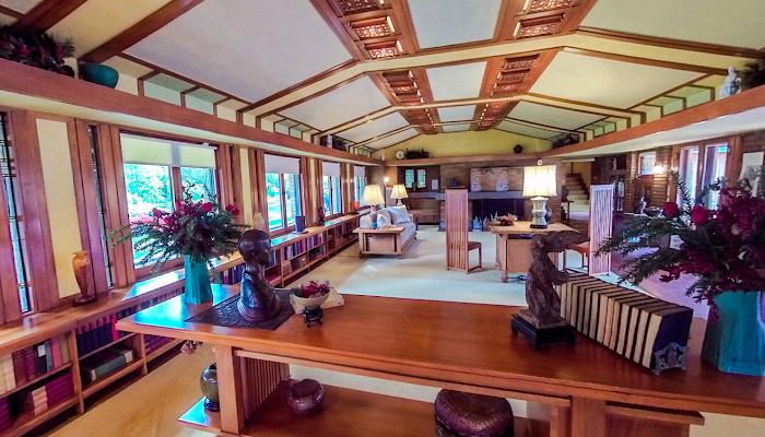 Casa Allen (Frank Lloyd Wright) - 360°