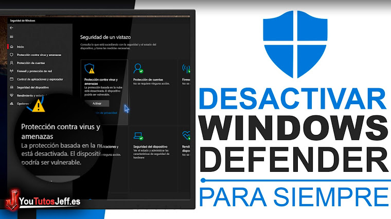 Como Desactivar Windows Defender Windows 10 Para Siempre