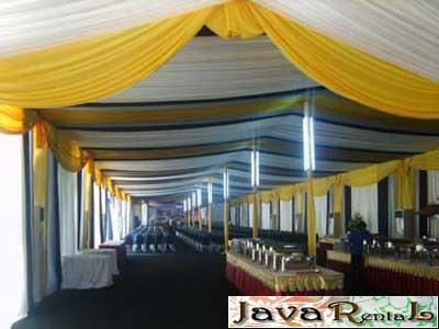 Sewa Tenda Dekorasi - Jakarta