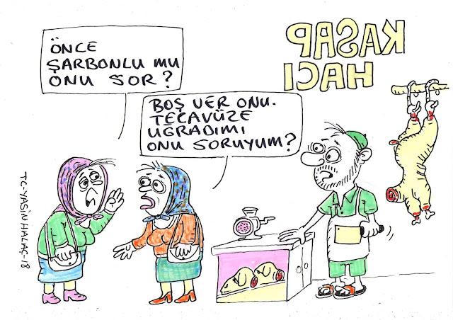 kasap hacı karikatür