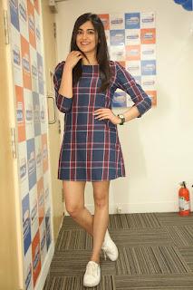 Actress Adah Sharma Stills At Radio City For Kshanam Movie Promotions  0014