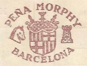 Escudo de la Peña Morphy de Barcelona