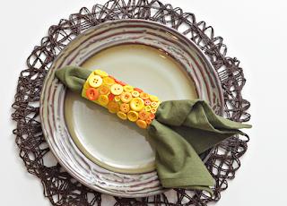 Yemek Masalarına Peçete Tokası Yapımı