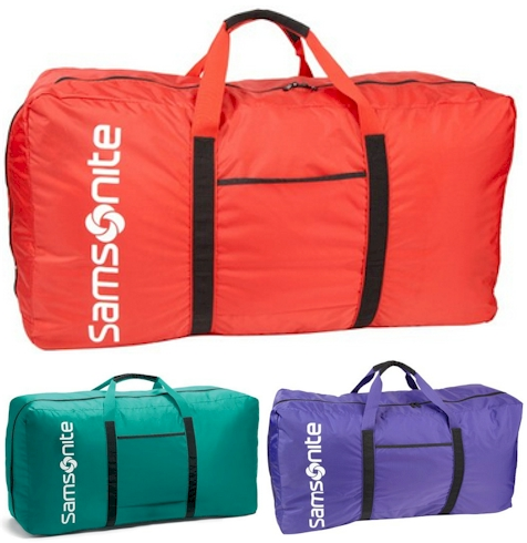 Samsonite Tote A Ton Duffle Bag Only 16 Shipped Now This Will Out Plus 40 Off Select Spinners