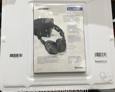 Costco 1113000 - Bose Soundlink OE Bluetooth Headphones - The convenience of wireless connectivity with the clear crisp sounds that you would come to expect from Bose