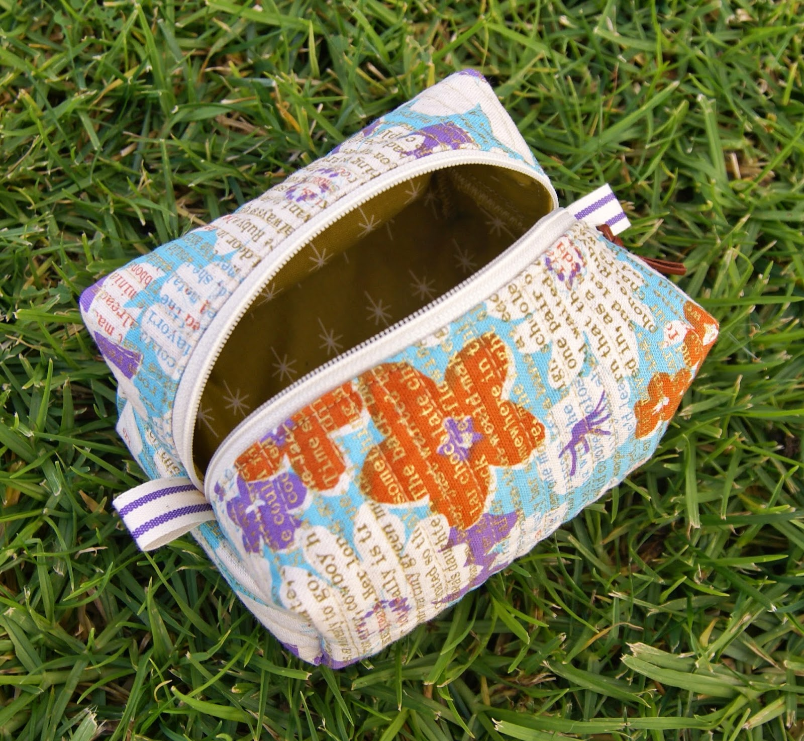 Melody Miller Makeup Pouch by Fabric Mutt