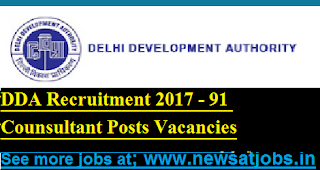 DDA-91-Counsultant-Posts-Recruitment-2017