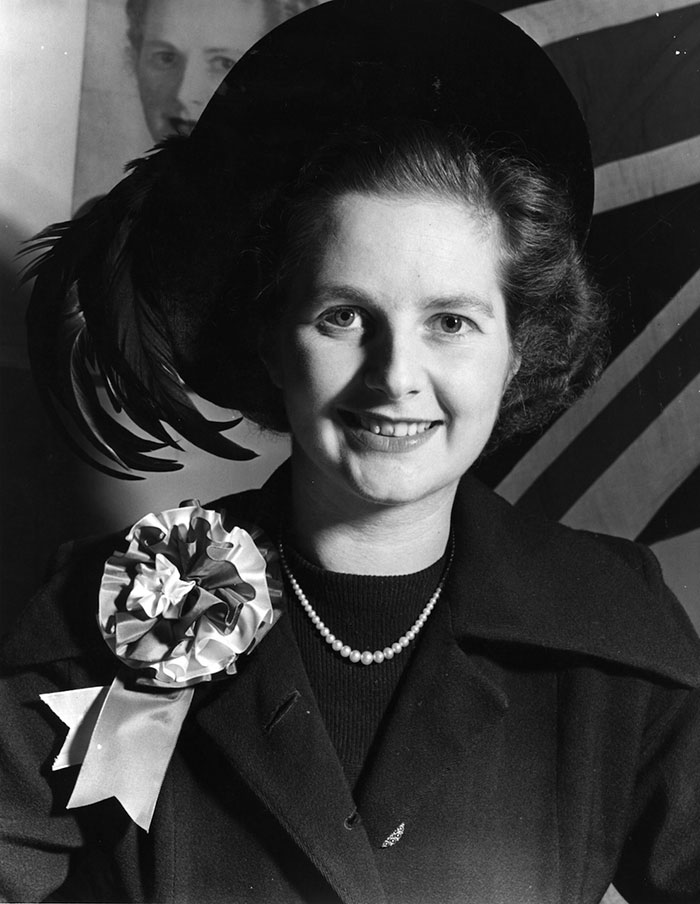 30 Pictures Of World Leaders In Their Youth That Will Leave You Speechless - Young Margaret Thatcher Aka 'The Iron Lady', The Former Prime Minister Of The United Kingdom