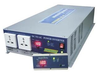 Imagem de um inversor de 12 volts para 220 volts
