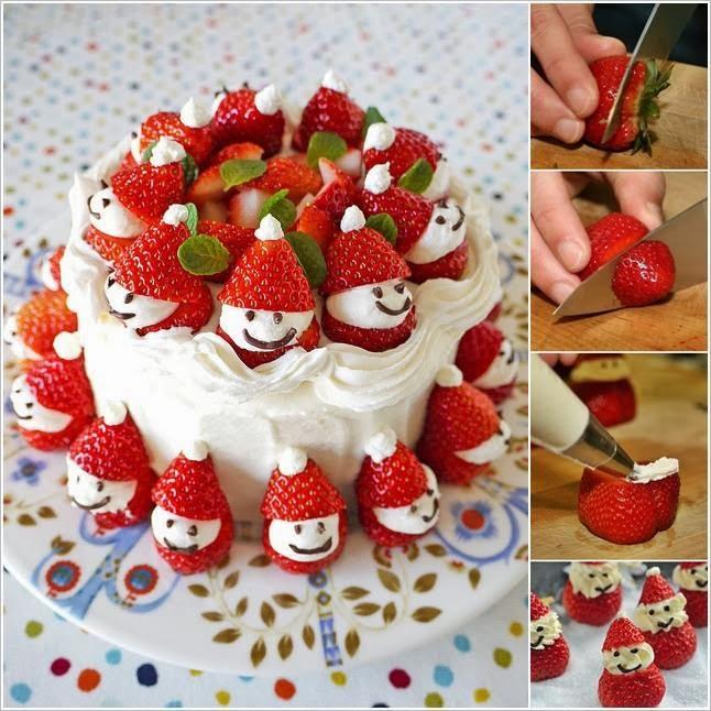 Torta di Babbo Natale - La CASA Delle IDEE fb8e57abe5e7