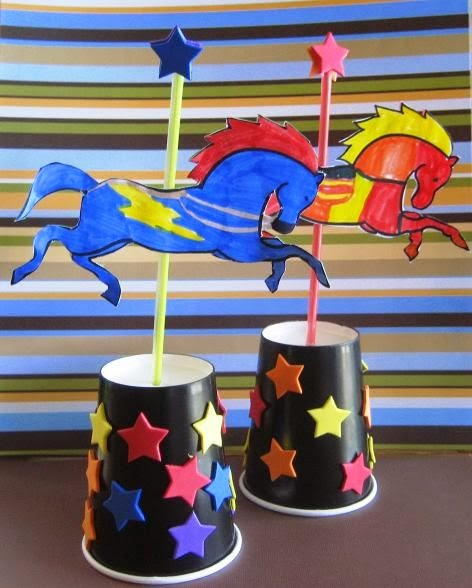 Carousel Crafts For Preschoolers