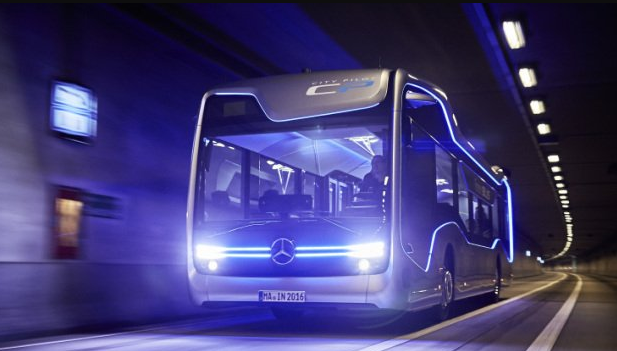 Mercedes-Benz's Semi-Autonomous Bus Just Passed its First Major Test