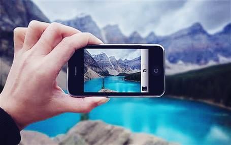 Gambar pemakaian digital camera phone