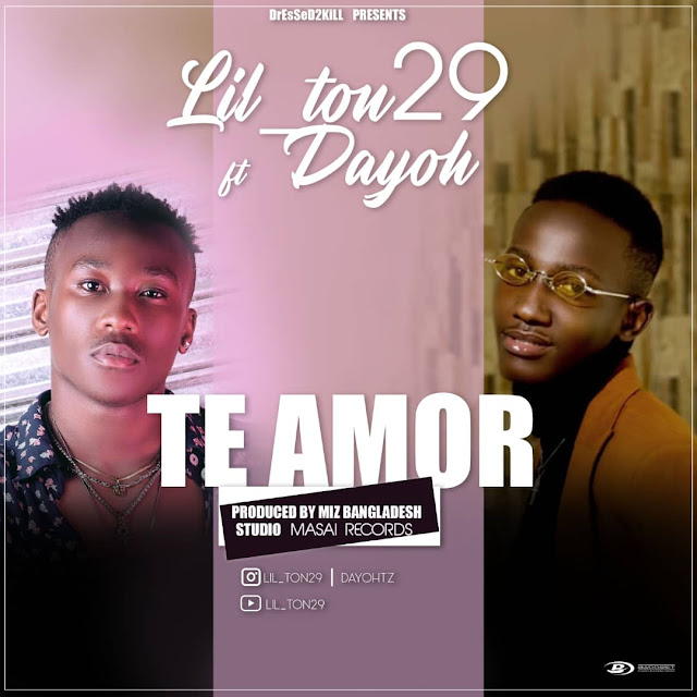 Lil_Ton29 Ft. Dayoh - Te Amor