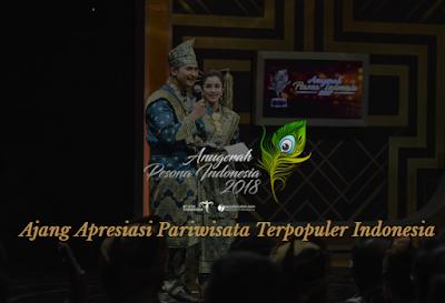 Daftar Nominasi Anugerah Pesona Indonesia 2018