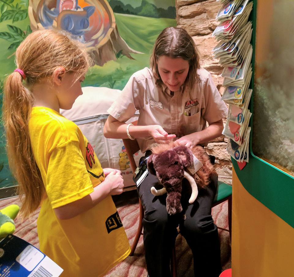 11 Things to do with Kids at Disney Springs Orlando, Florida  - T rex build a bear shop