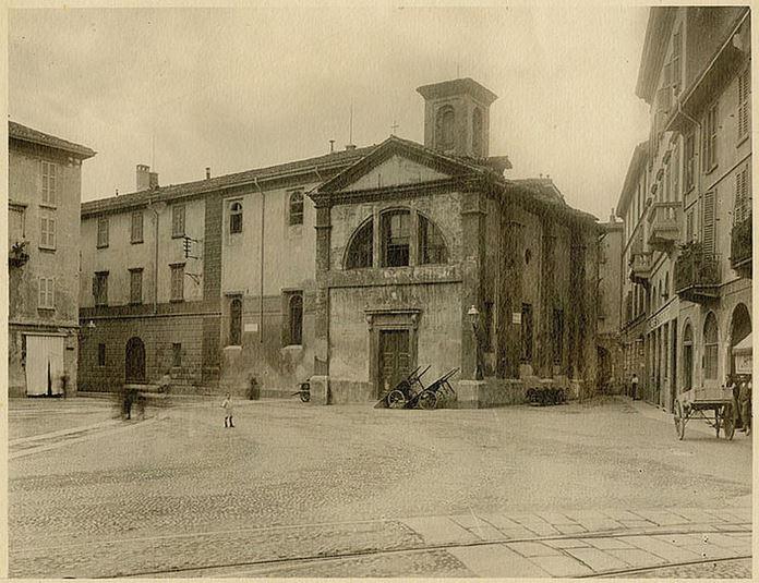 milanoneisecoli: La chiesa di san Michele al dosso (piazza sant ...