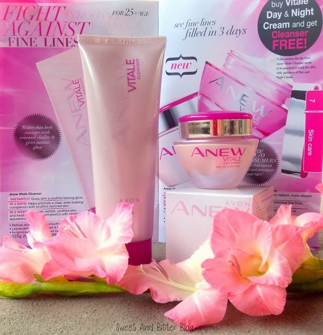 Avon Anew Vitale Cream Cleanser Antiaging India