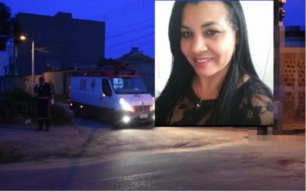 Mulher assassinada a tiros na noite desta quarta feira 12/12