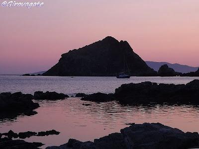 tramonto Mar Morto Argentario
