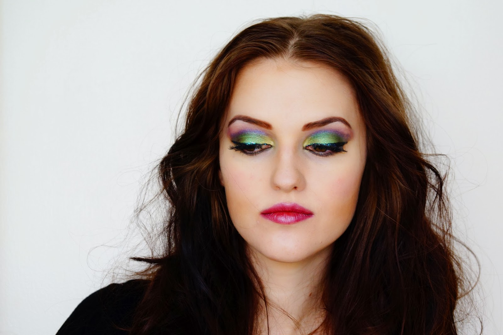 Pretty witch makeup