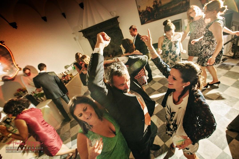 balli al ricevimento matrimonio Genova Palazzo della Torre