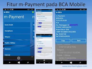 Fitur m-payment pada BCA Mobile Bayar Apa Saja jadi Mudah