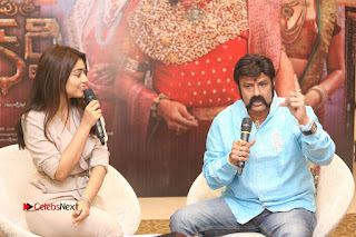 Shriya Saran Nandamuri Balakrishna at Gautamiputra Satakarni Team Press Meet Stills  0176.JPG