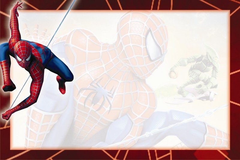 fabulosas tarjetas de cumpleaos del hombre araa