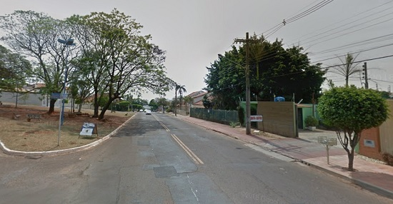 Rua de Campo Grande/MS