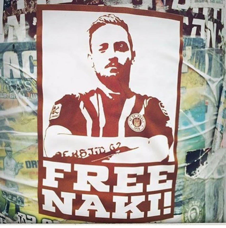 cdccfd426 Deniz Naki, giocatore dell'Amed SK squadra della capitale kurda di  Diyarbakir, è stato condannato a un anno sei mesi e ventidue giorni di  carcere per ...