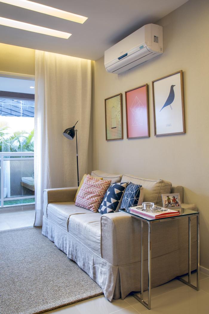 3 pequenas salas de estar e jantar integradas jeito de for Sala de estar the sims 4