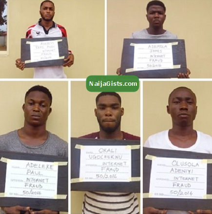 yahoo yahoo boys arrested akure
