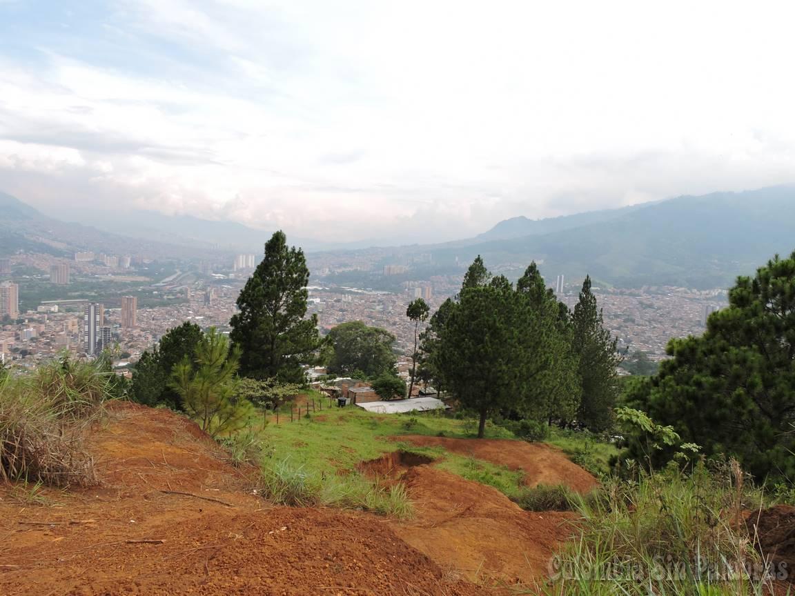vista de la ciudad desde el barrio camacol