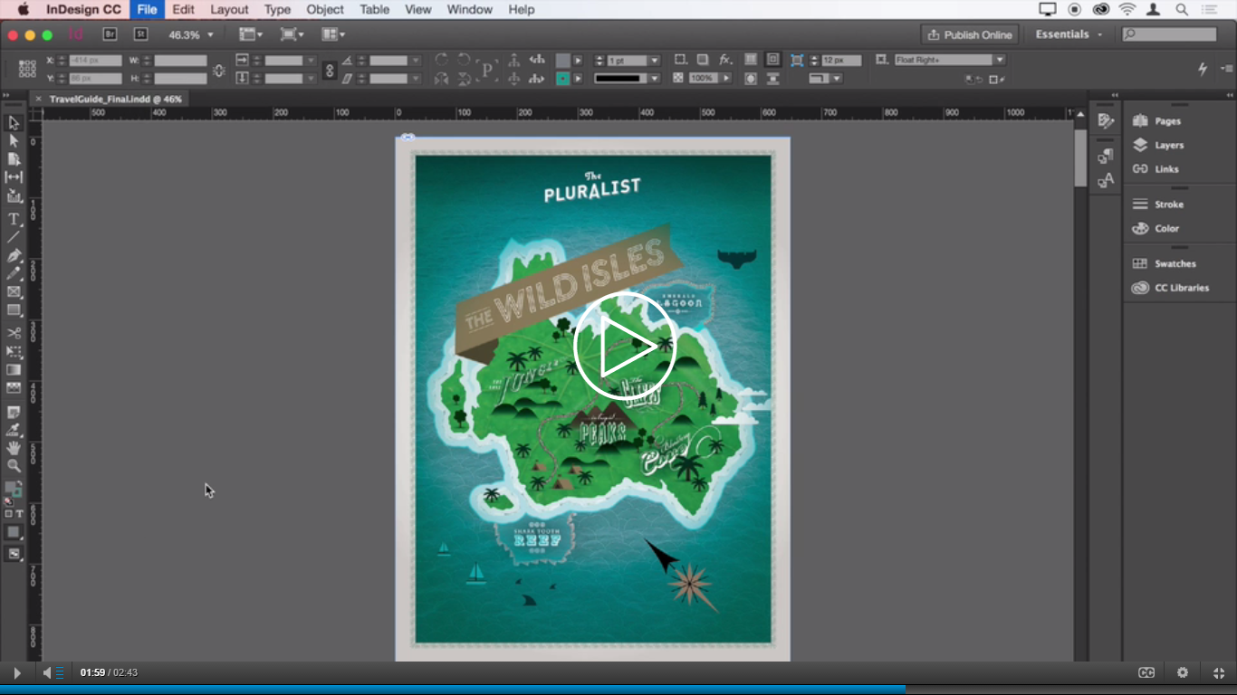 What is Adobe Indesign? Or Things you can with Adobe Indesign