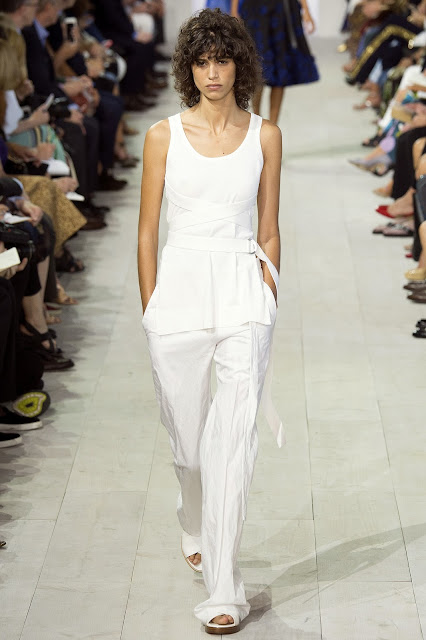 Michael Kors Collection SS 2016 white outfit