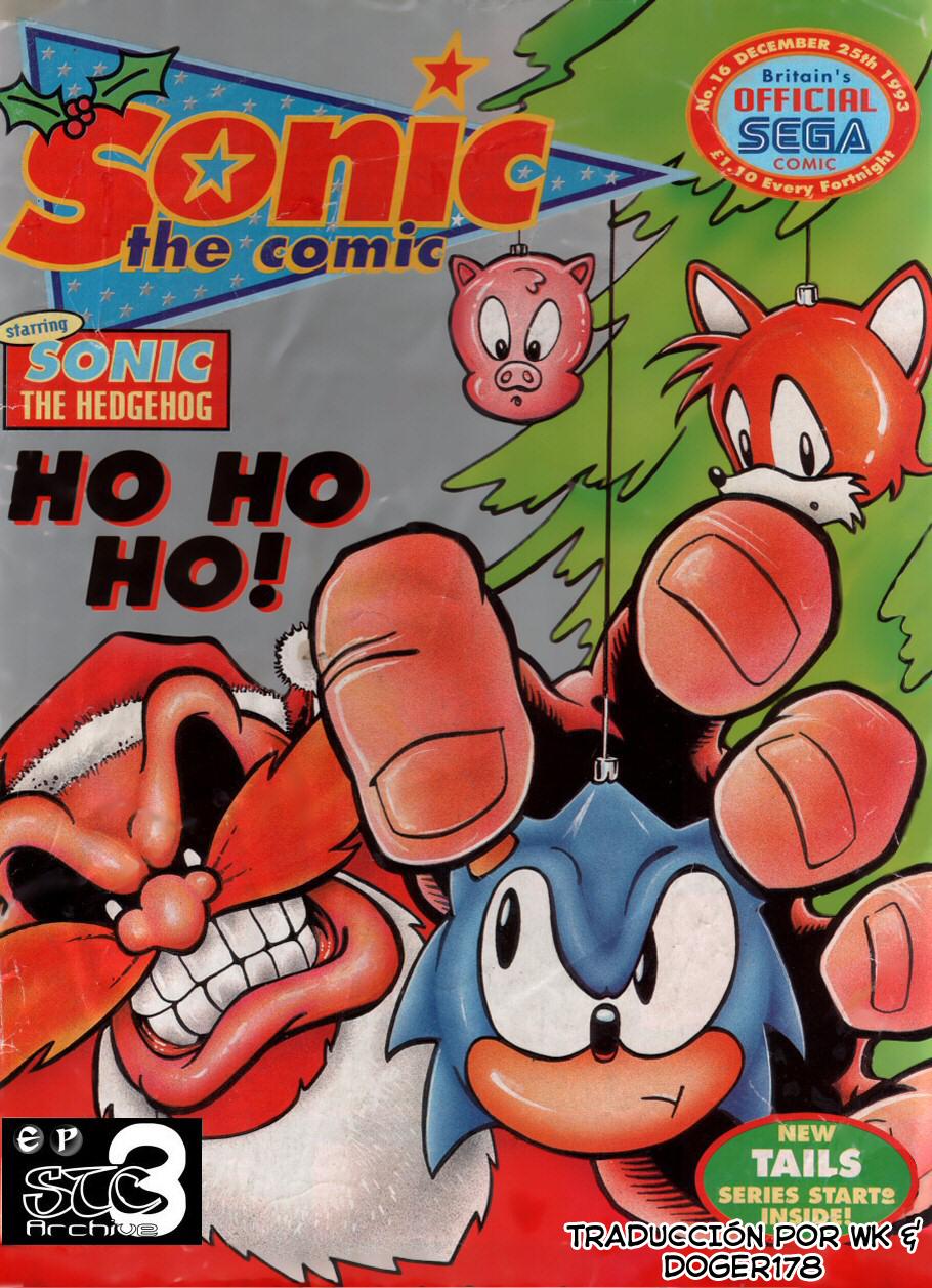 Actualización 23/01/2018: Se agrega el pequeño cómic perteneciente a la publicación Sonic The Comic numero 16 por Wk y Doger 178 de The Tails Archive y La casita de Amy Rose, disfrútenlo.