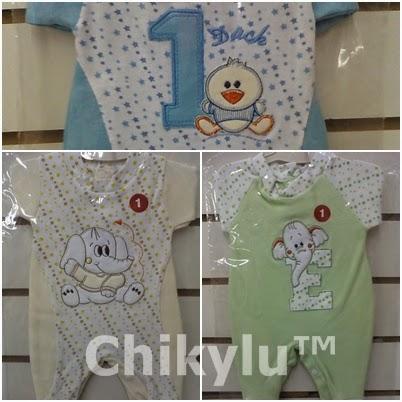 chikylu, enteritos de bebes, recien nacidos , talles 1,2,3,4,
