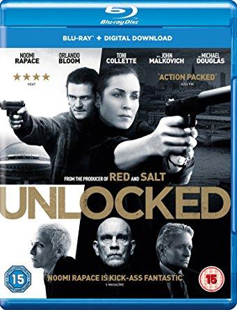 Unlocked 2017 English Movie 720p BRRip 902MB Download