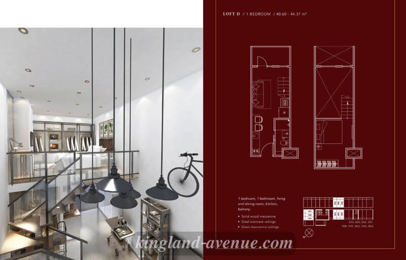 LOFT D Apartemen The Venetian Residence Serpong